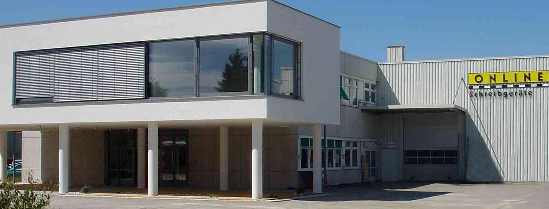 ONLINE Schreibgeräte GmbH in Neumarkt, Firmengebäude