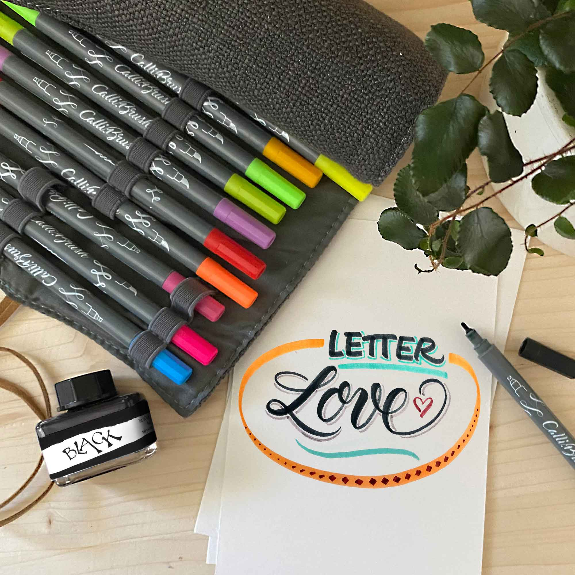 Letter Love – Handlettering-Workshop für Fortgeschrittene 18.03. inkl. Material-Paket