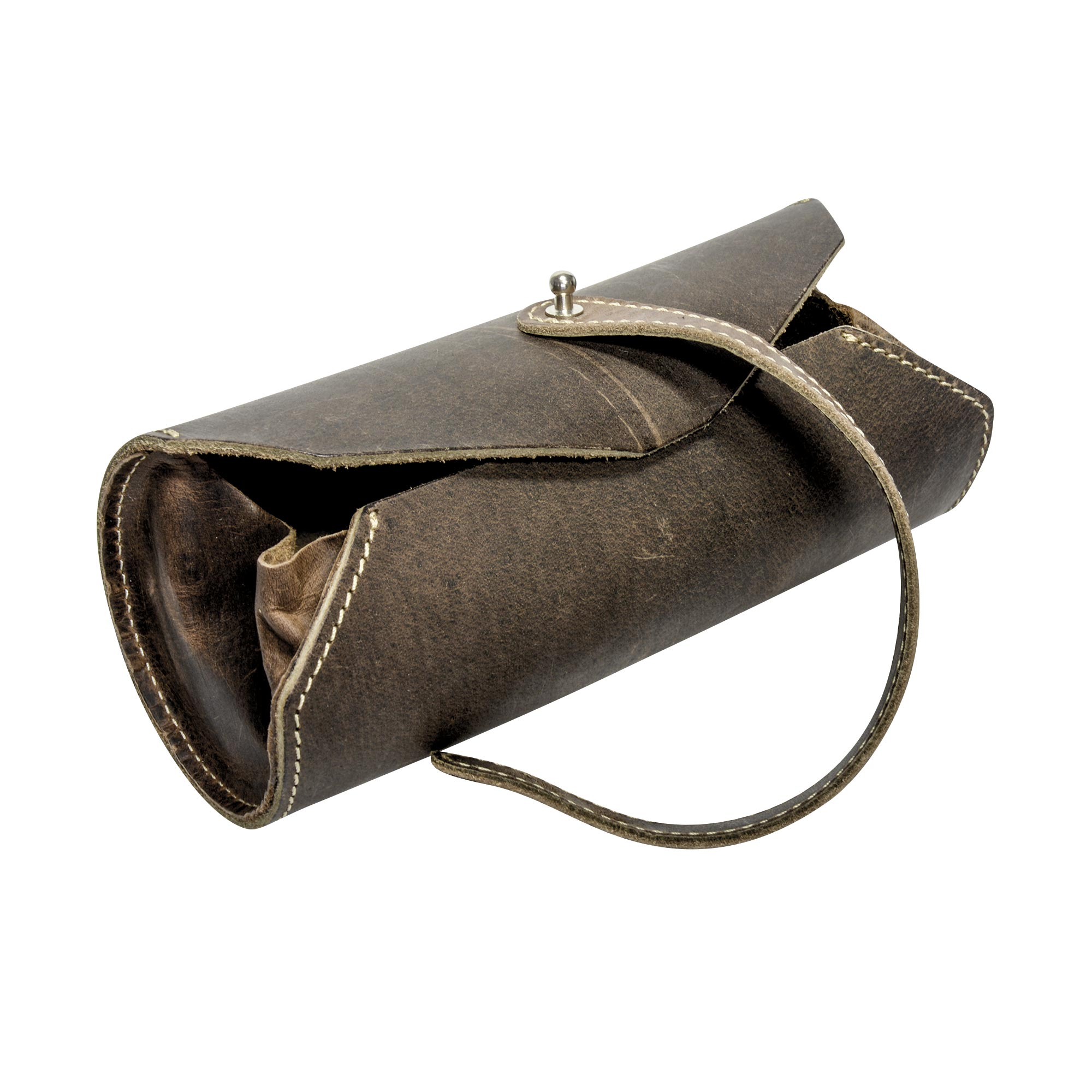 Leather Pen Roll Pouch