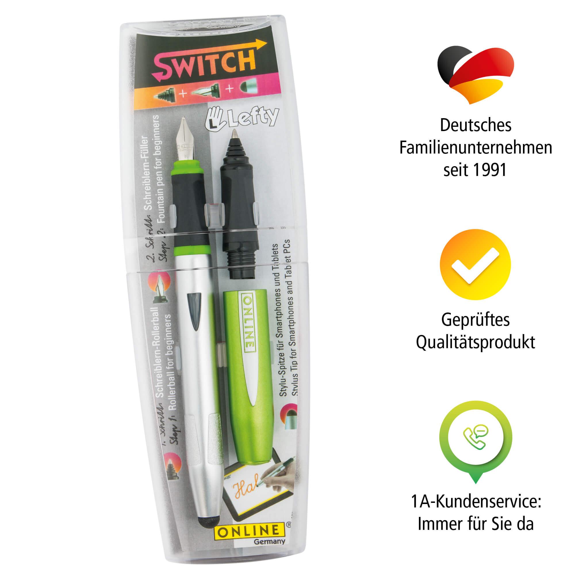 Schreiblern-Set Switch Starter