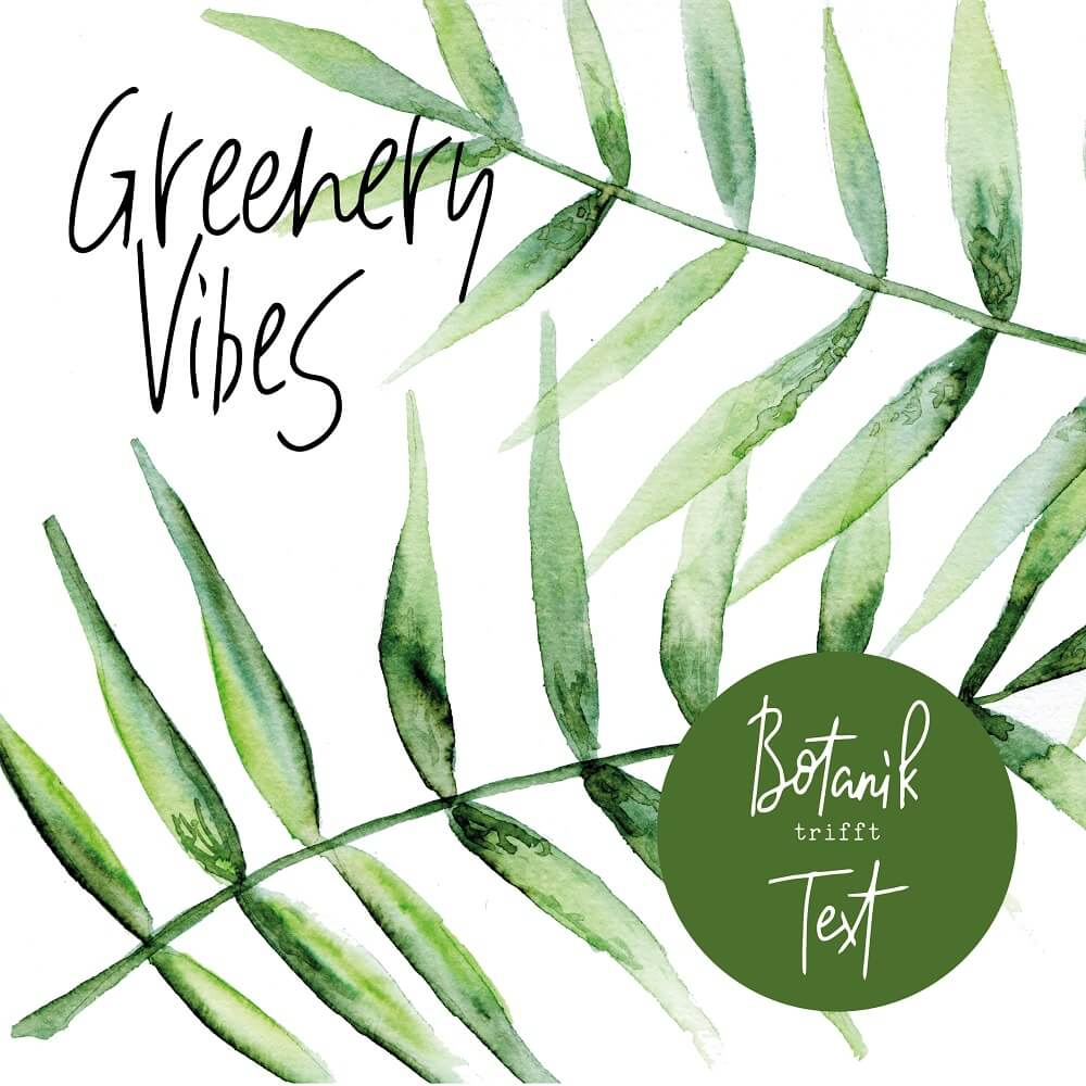 Greenery Vibes Workshop 27.05.