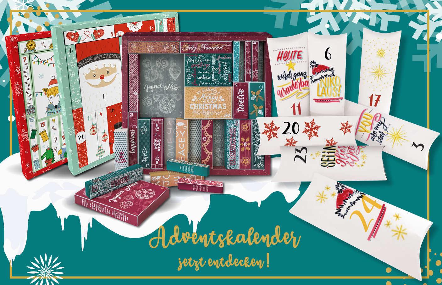 Adventskalender Handlettering, DIY, Kids und Girls for School
