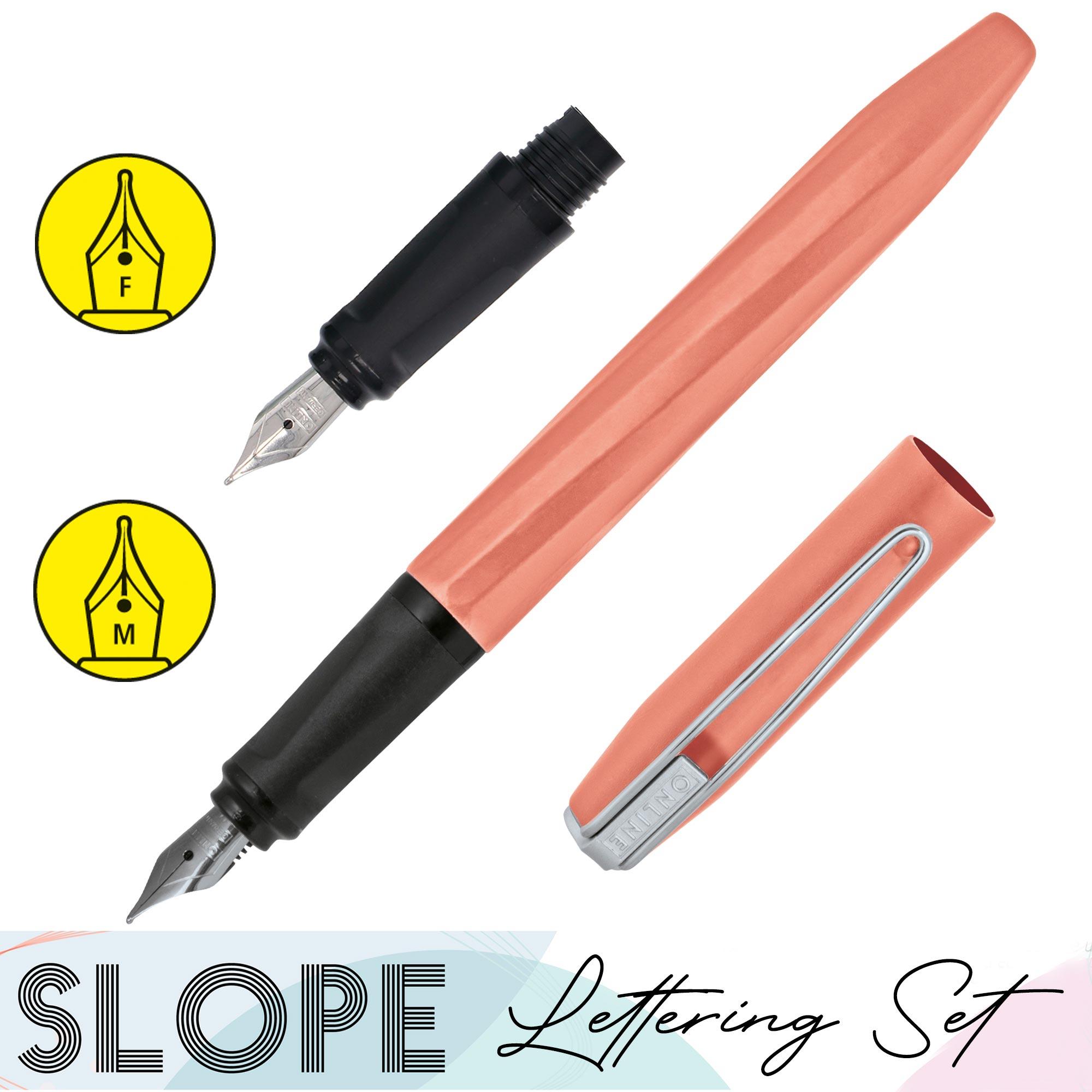 Füller-Lettering-Set Slope